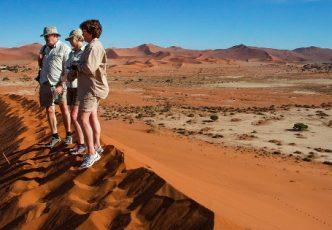 Namibia Desert Dune Exploration